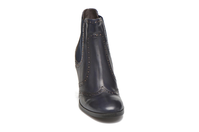 Bottines et boots Georgia Rose Aberfo Bleu vue portées chaussures