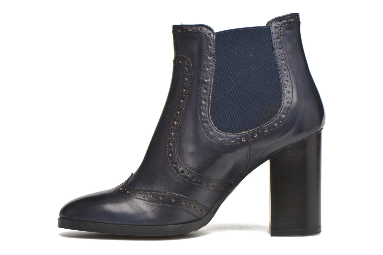 Bottines et boots Georgia Rose Aberfo Bleu vue face