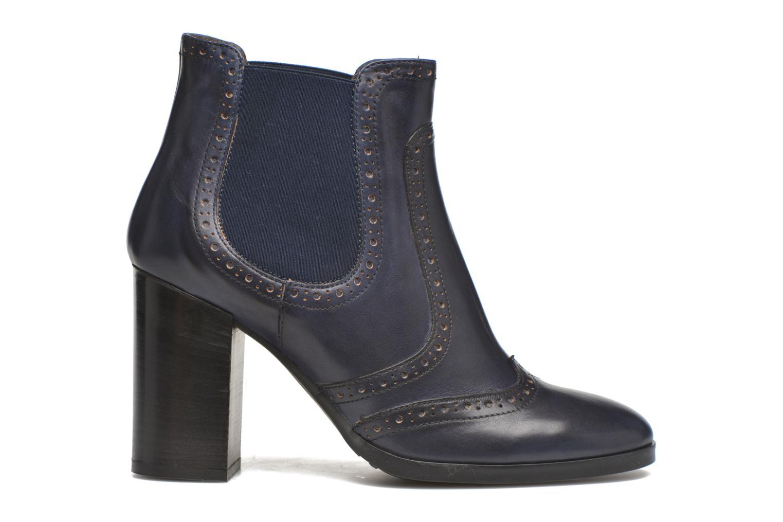 Bottines et boots Georgia Rose Aberfo Bleu vue derrière