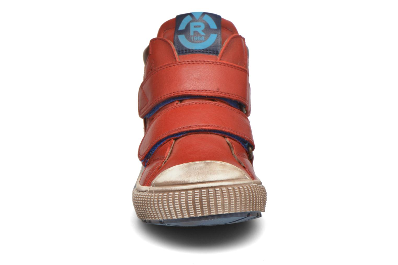 Sneaker Romagnoli Diego rot schuhe getragen