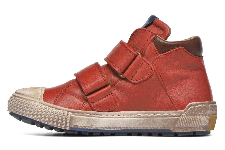 Sneaker Romagnoli Diego rot ansicht von vorne