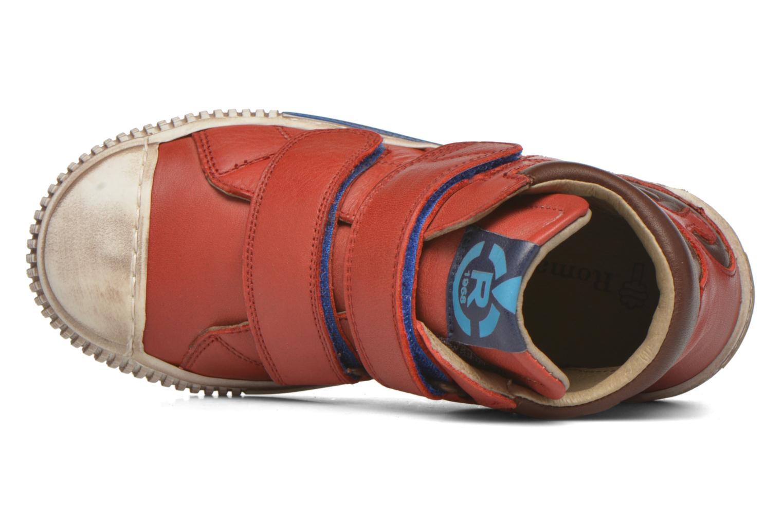 Sneaker Romagnoli Diego rot ansicht von links