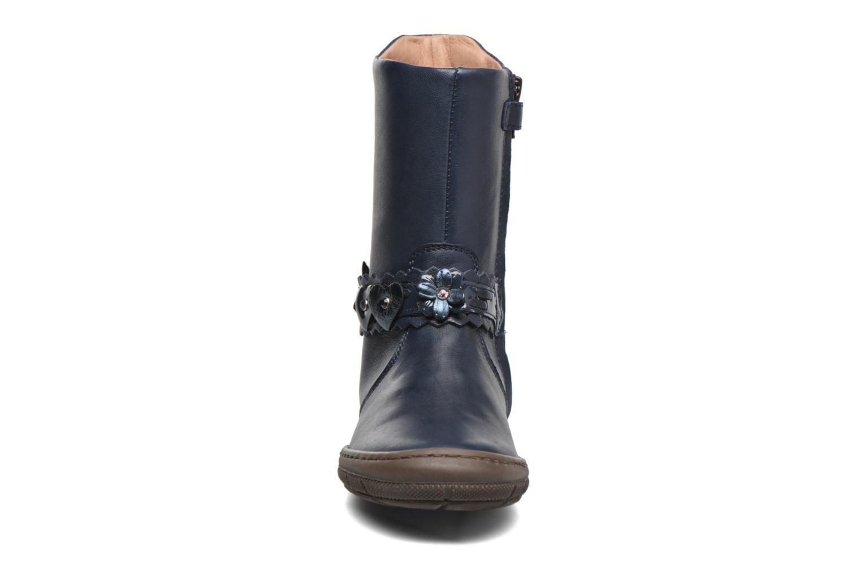 Bottes Romagnoli Allegra Bleu vue portées chaussures