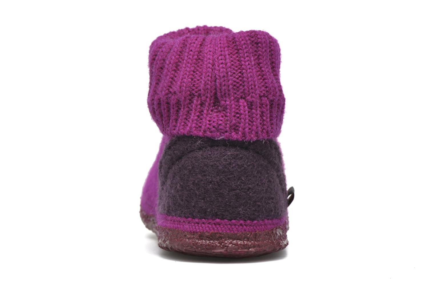 Slippers Giesswein Kramsach2 Purple view from the right