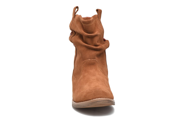 Bottines et boots TOMS Laurel Marron vue portées chaussures