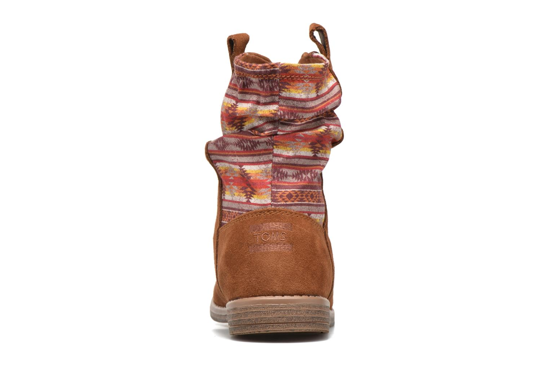 Bottines et boots TOMS Laurel Marron vue droite
