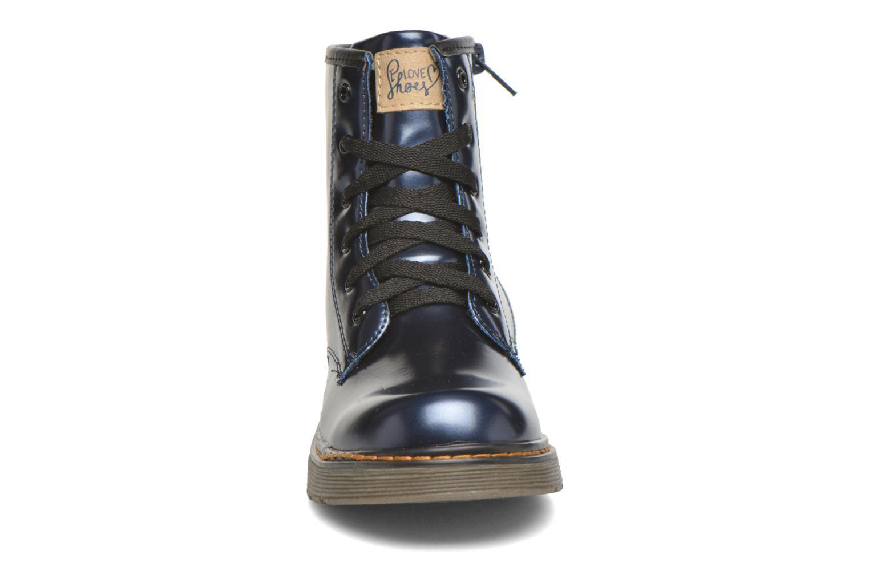 Stivaletti e tronchetti I Love Shoes XOPULL Azzurro modello indossato