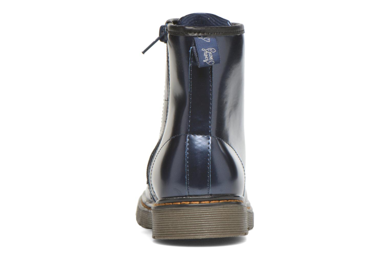 Stivaletti e tronchetti I Love Shoes XOPULL Azzurro immagine destra