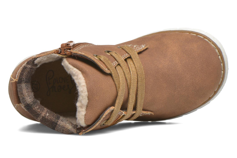 Stiefeletten & Boots I Love Shoes xuPHILMO braun ansicht von links