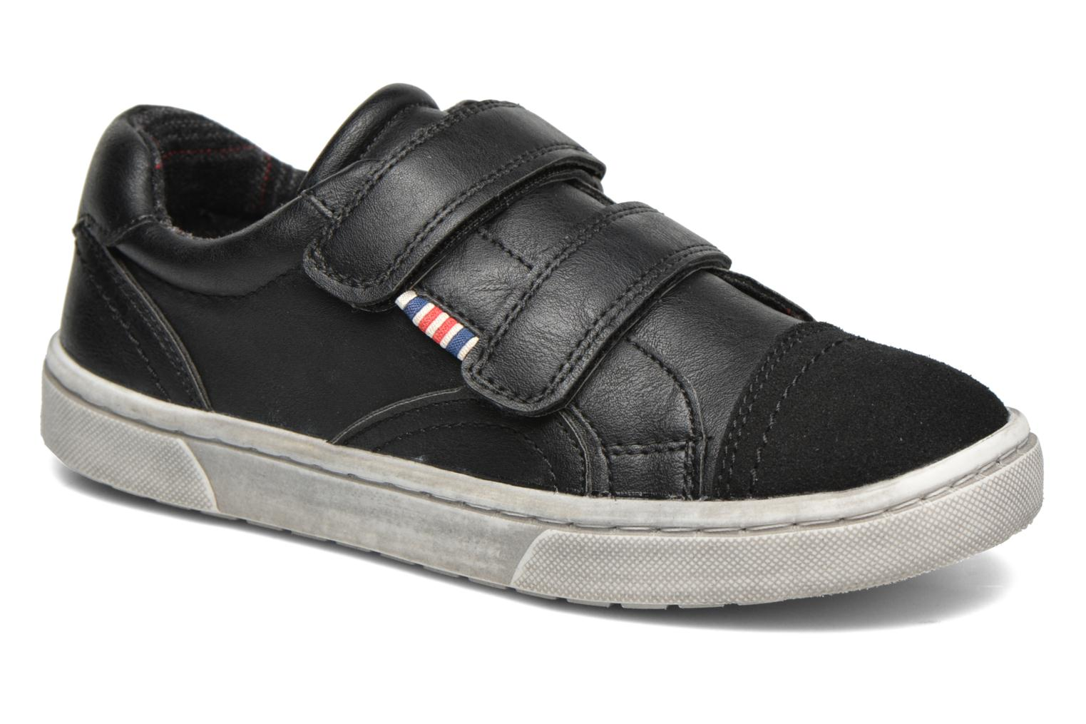 Trainers I Love Shoes xEPHIDEE Black detailed view/ Pair view