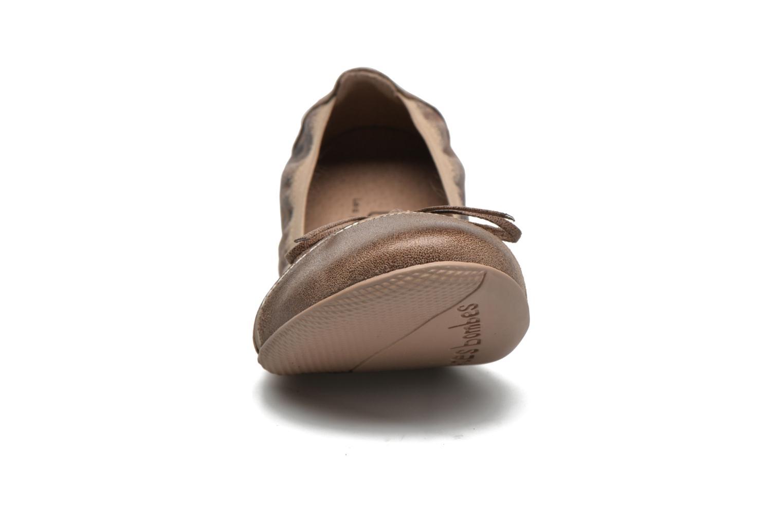 Ballet pumps Les P'tites Bombes Caprice Beige model view