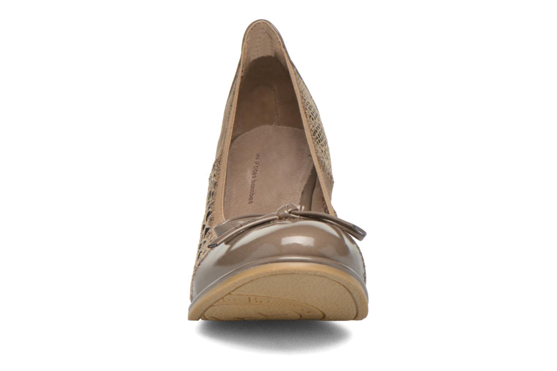 High heels Les P'tites Bombes Amael Beige model view