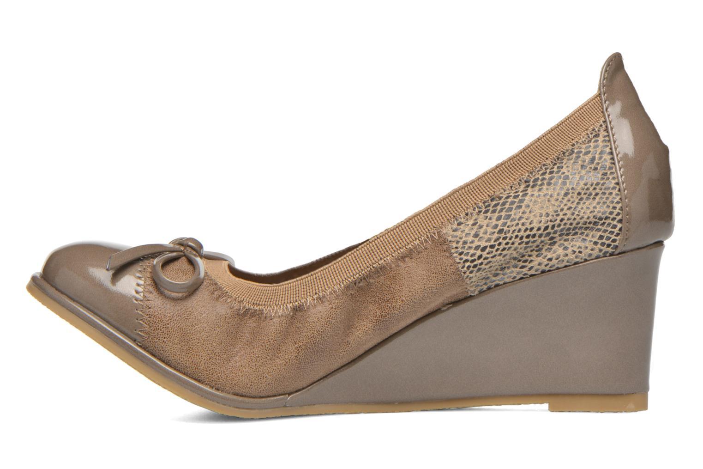 High heels Les P'tites Bombes Amael Beige front view
