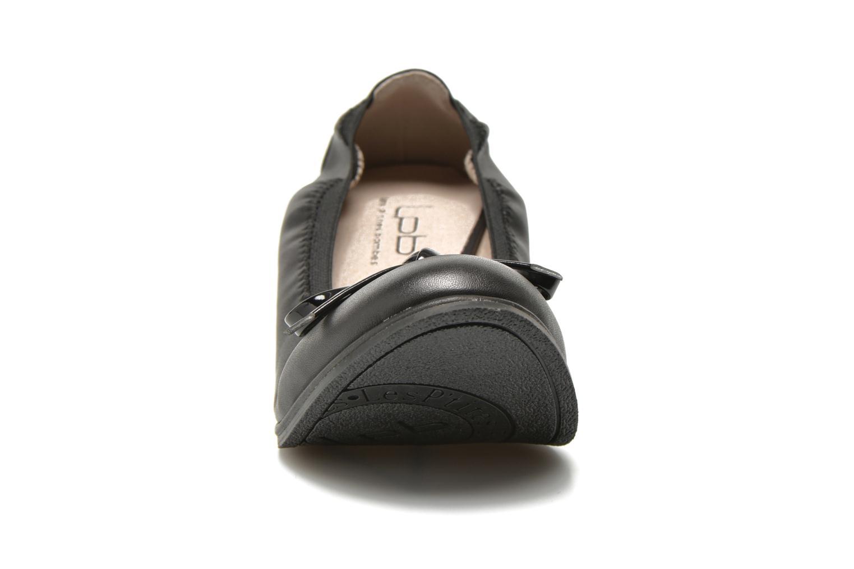 Ballerines Les P'tites Bombes Edelweiss Noir vue portées chaussures