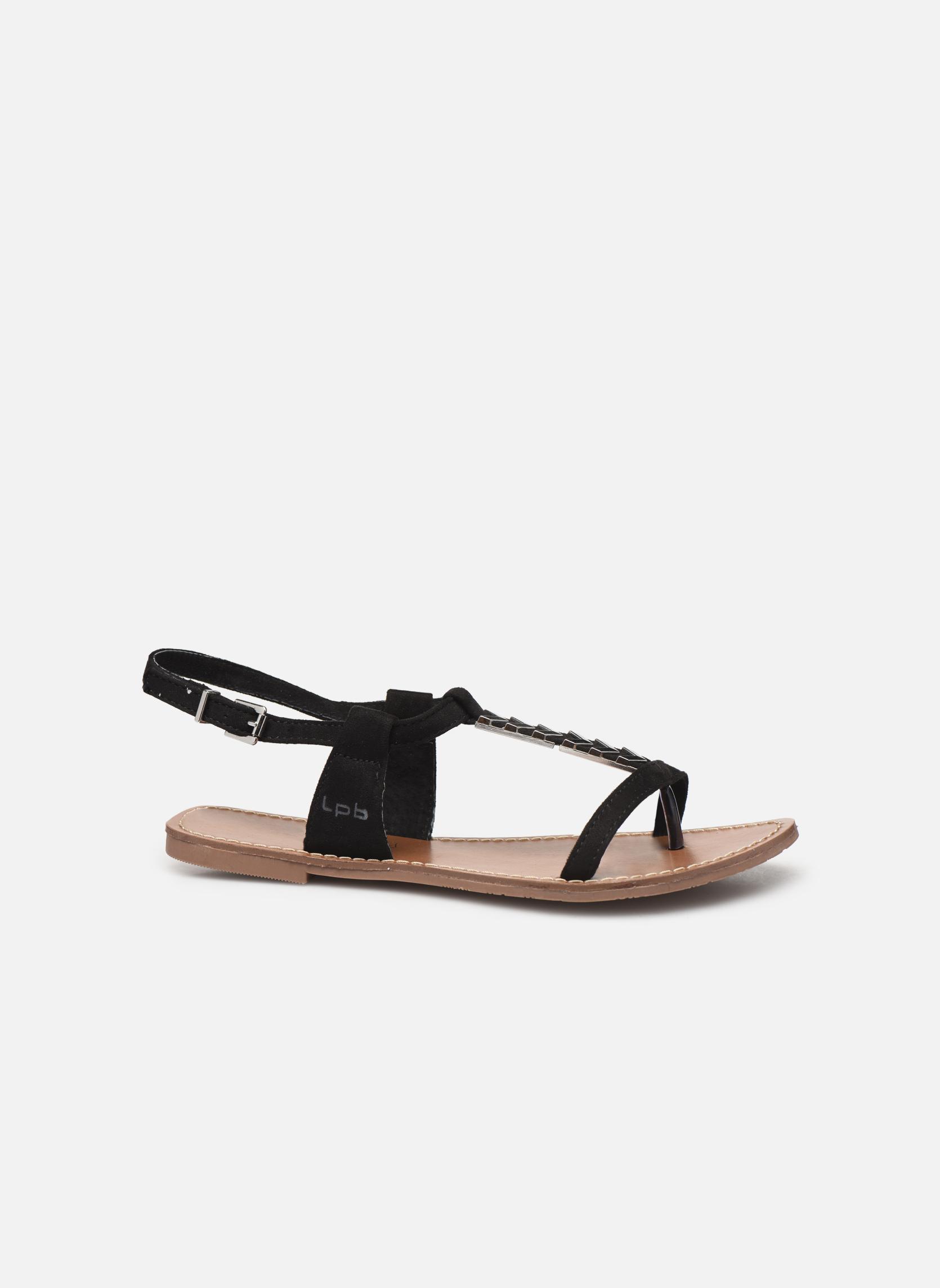 Sandales et nu-pieds Les P'tites Bombes Petunia Noir vue derrière