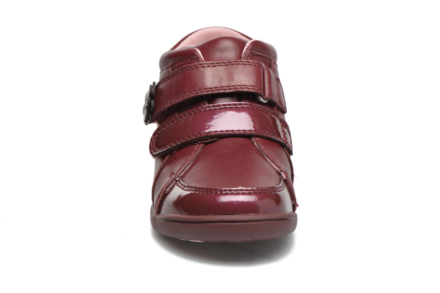 Lily Wine leather patent