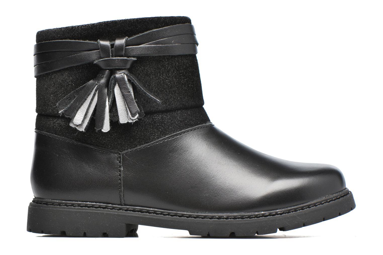 Aria Black leather/suede