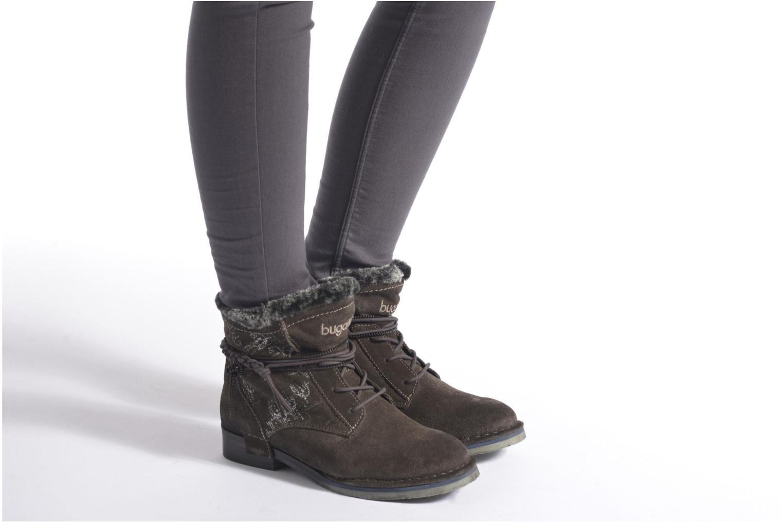 Bottines et boots Bugatti Karla Revo Gris vue bas / vue portée sac