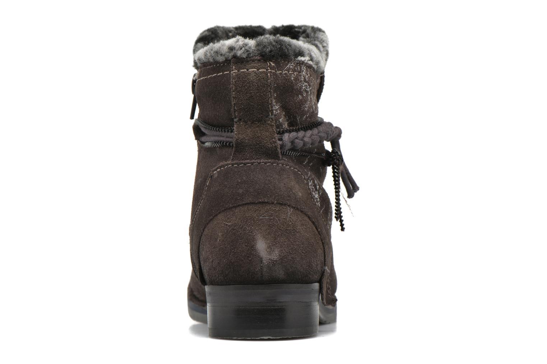 Bottines et boots Bugatti Karla Revo Gris vue droite