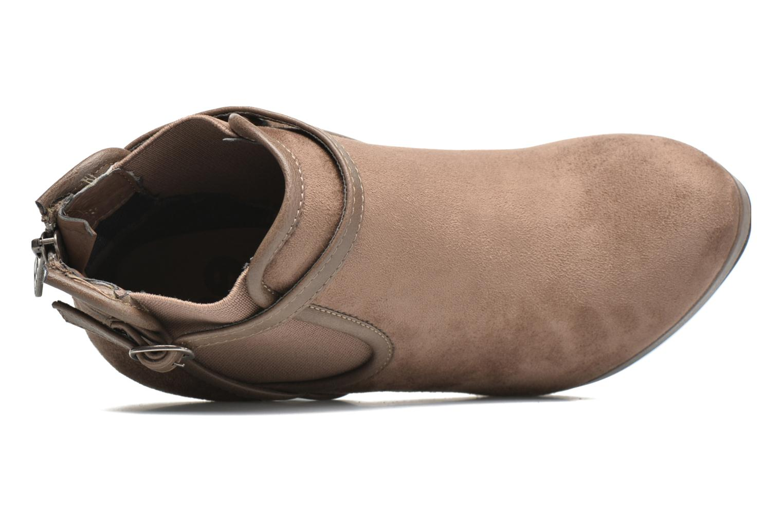 Stiefeletten & Boots Refresh Nelio-61228 braun ansicht von links