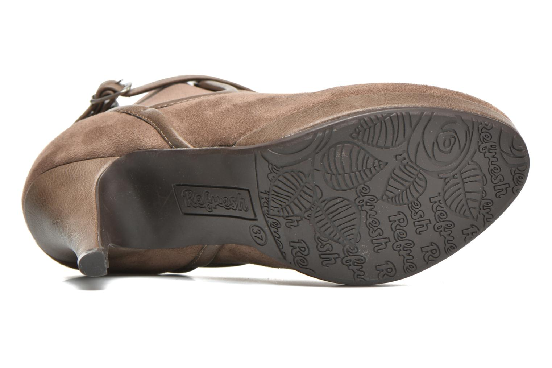 Bottines et boots Refresh Nelio-61228 Marron vue haut