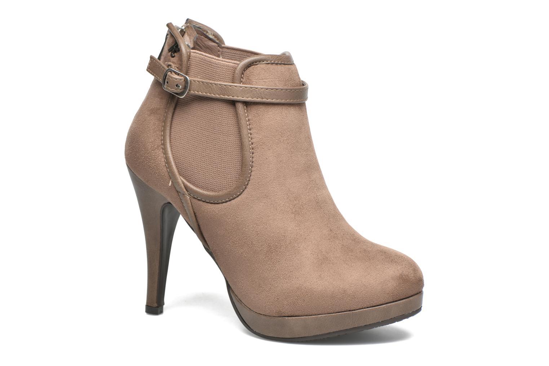 Bottines et boots Refresh Nelio-61228 Marron vue détail/paire