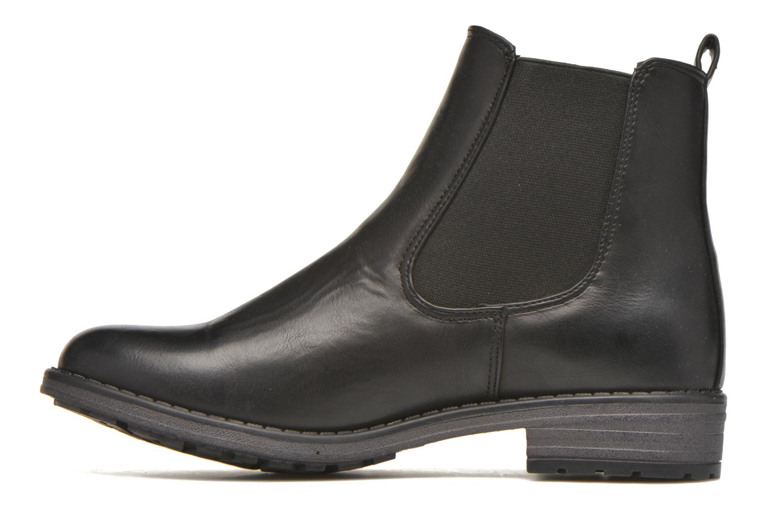 Bottines et boots Refresh Rain-61428 Noir vue face