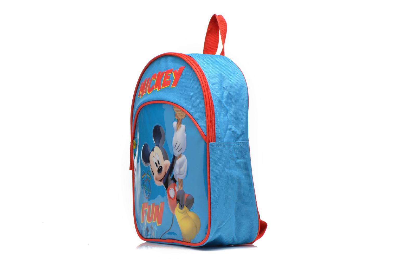 Rucksäcke Disney Sac à dos Mickey blau schuhe getragen