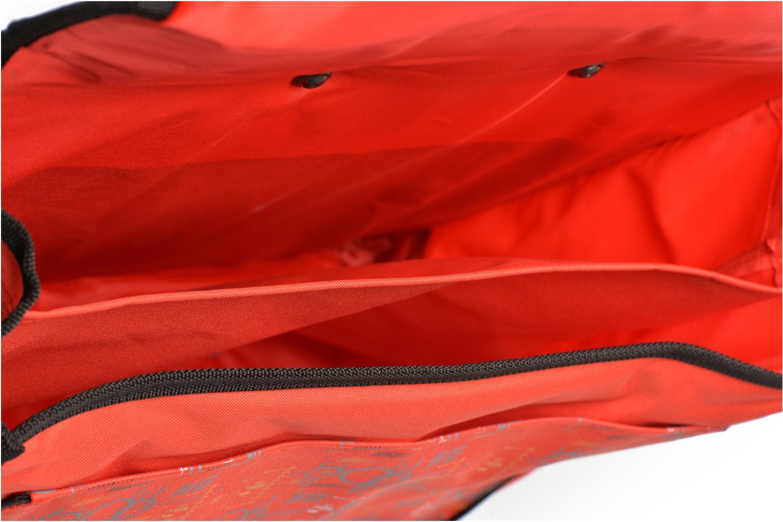 Per la scuola Disney Cartable 38cm Trolley Cars Rosso immagine posteriore
