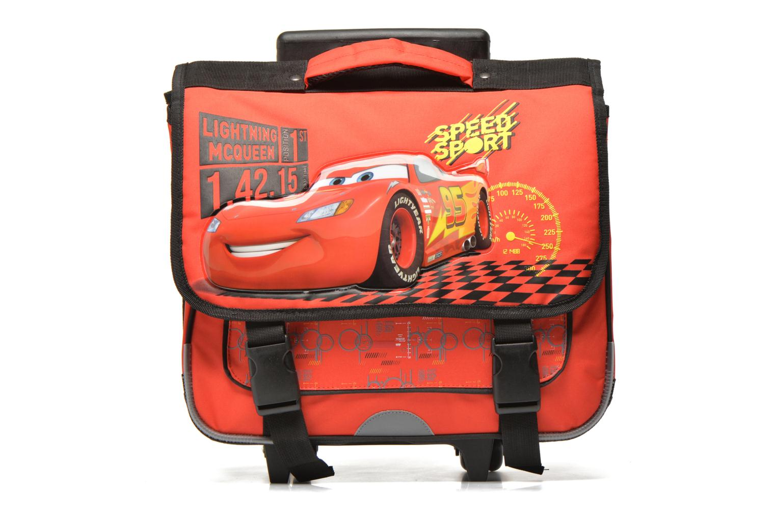 School bags Disney Cartable 38cm Trolley Cars Red detailed view/ Pair view