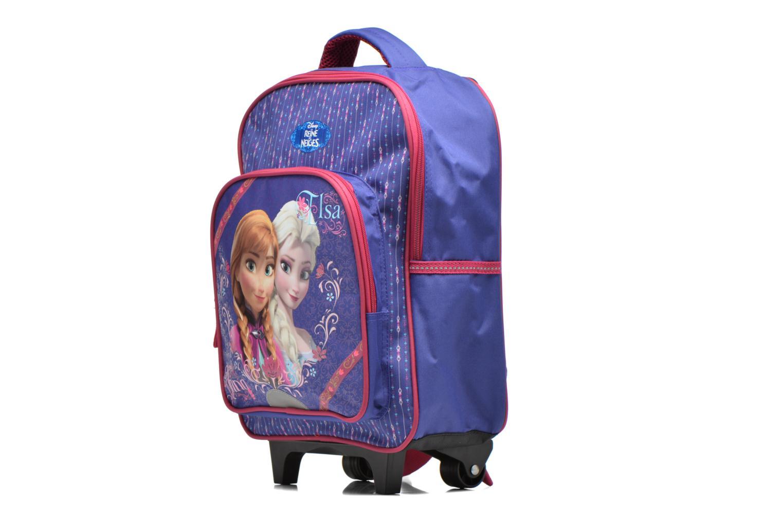 Rucksäcke Disney Sac à dos Trolley Reine des neiges blau schuhe getragen