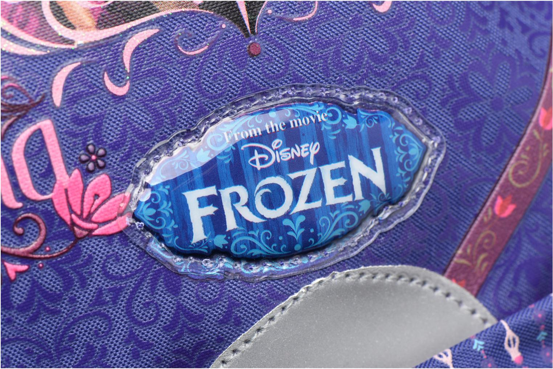 Mochilas Disney Sac à dos Trolley Reine des neiges Violeta      vista lateral izquierda