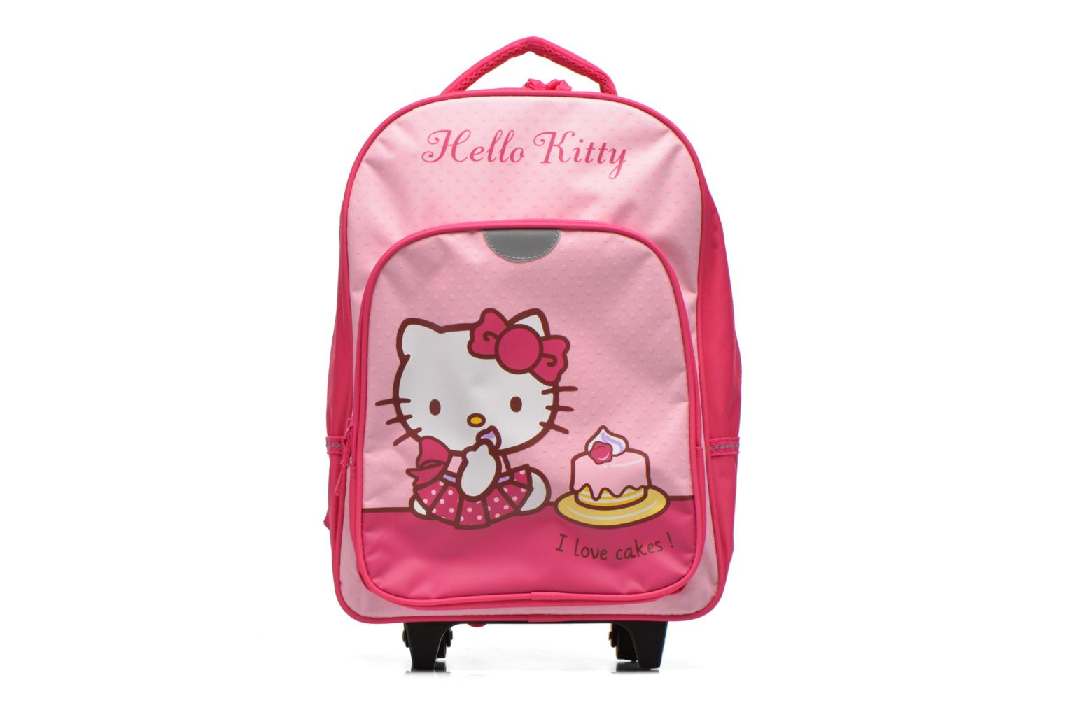 Sacs à dos Hello Kitty Sac à dos Trolley Hello Kitty Rose vue détail/paire