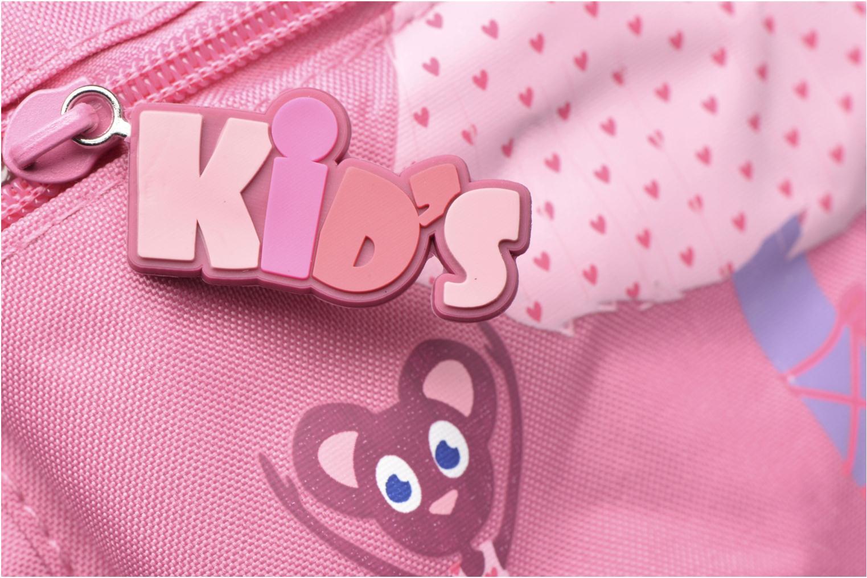 Rucksäcke Kid's Sac à dos Frog rosa ansicht von links