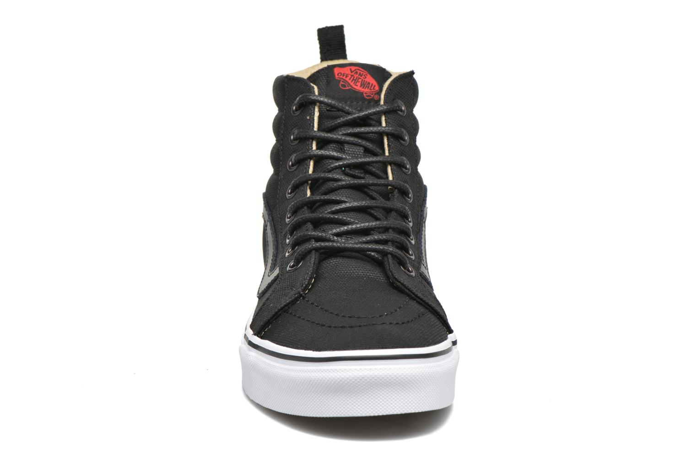 Baskets Vans SK8-Hi Reissue PT Noir vue portées chaussures