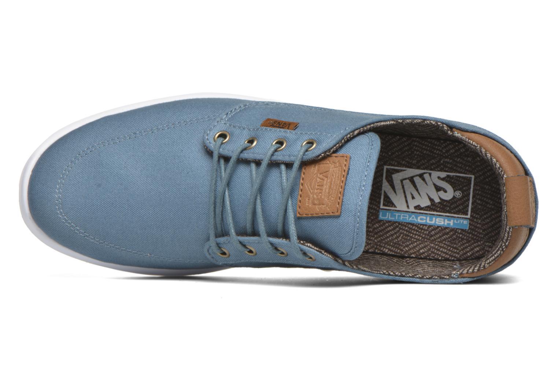 Sneaker Vans Brigata Lite blau ansicht von links