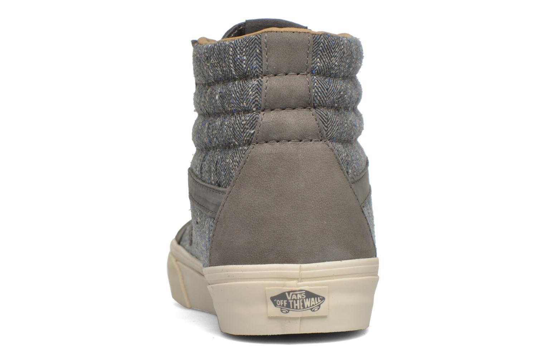 Sneakers Vans Sk8-Hi Reissue DX Grijs rechts