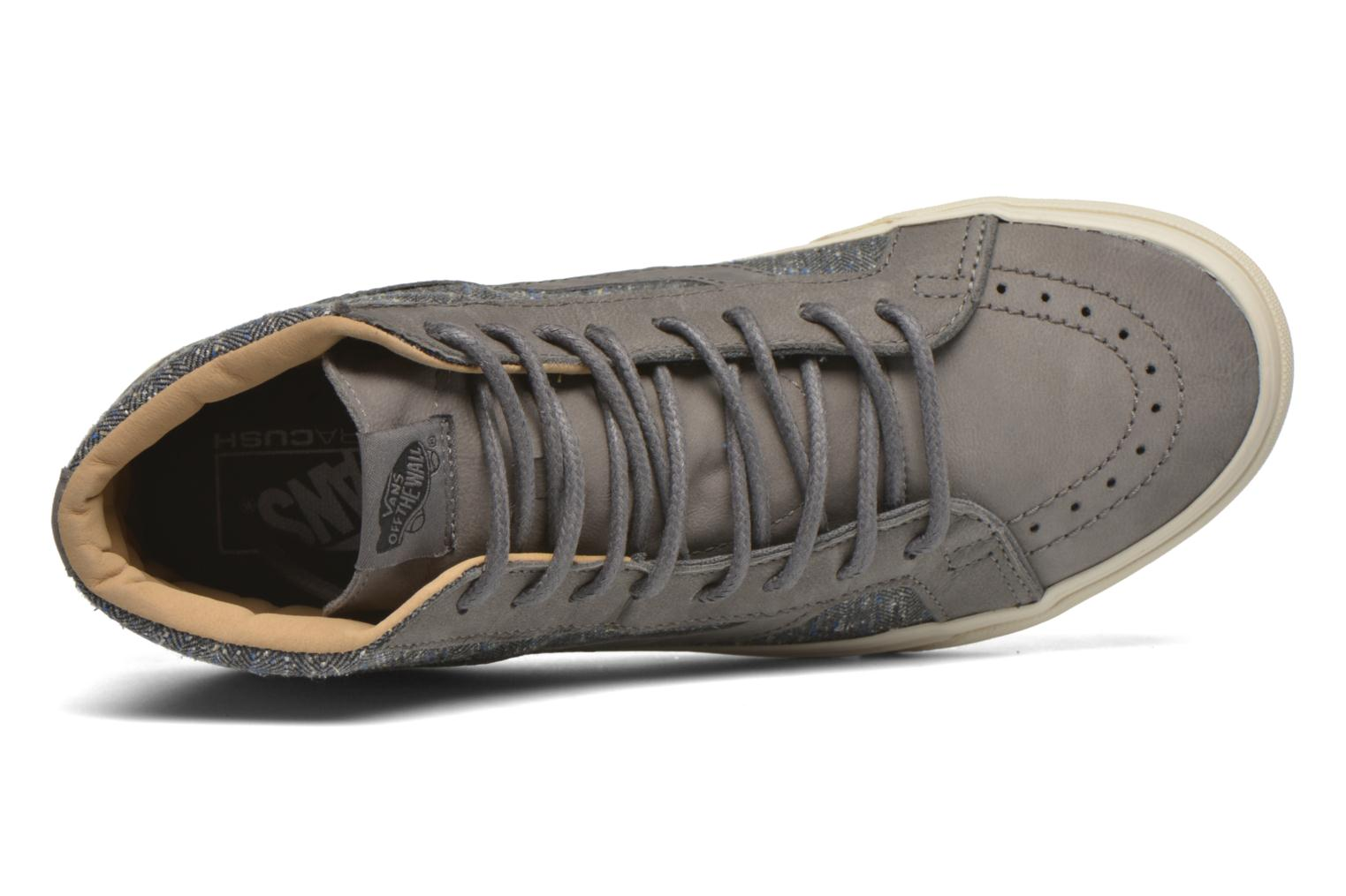 Trainers Vans Sk8-Hi Reissue DX Grey view from the left