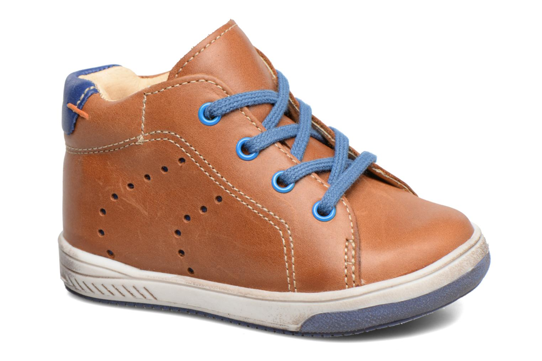 Bottines et boots Babybotte Ankara Marron vue détail/paire