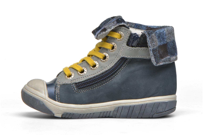 Sneaker Babybotte Artizip blau ansicht von vorne