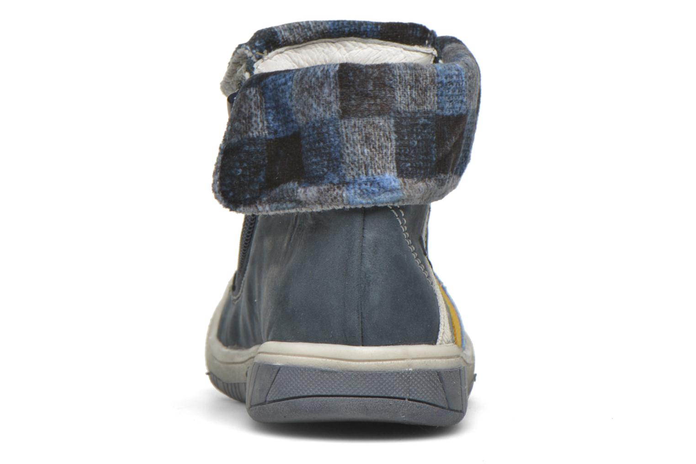 Sneaker Babybotte Artizip blau ansicht von rechts