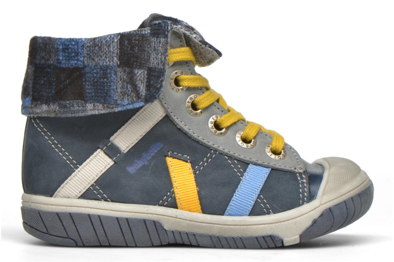 Sneaker Babybotte Artizip blau ansicht von hinten