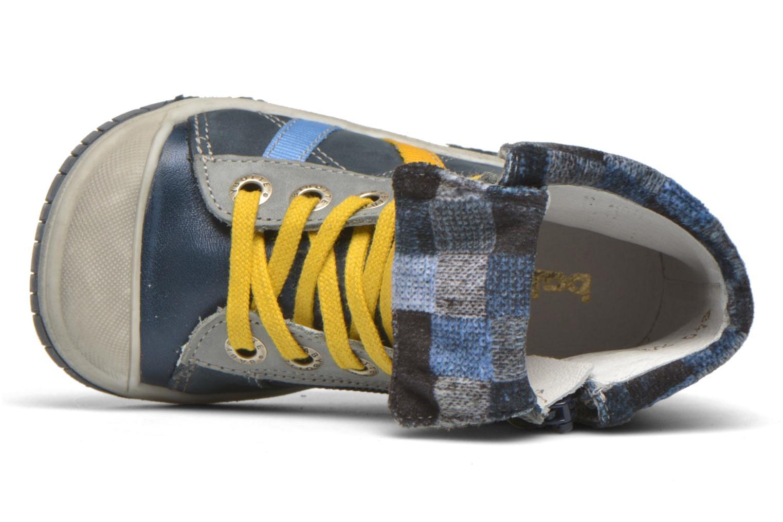 Sneaker Babybotte Artizip blau ansicht von links