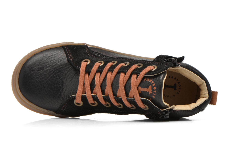 Sneaker Babybotte Kentin2 schwarz ansicht von links