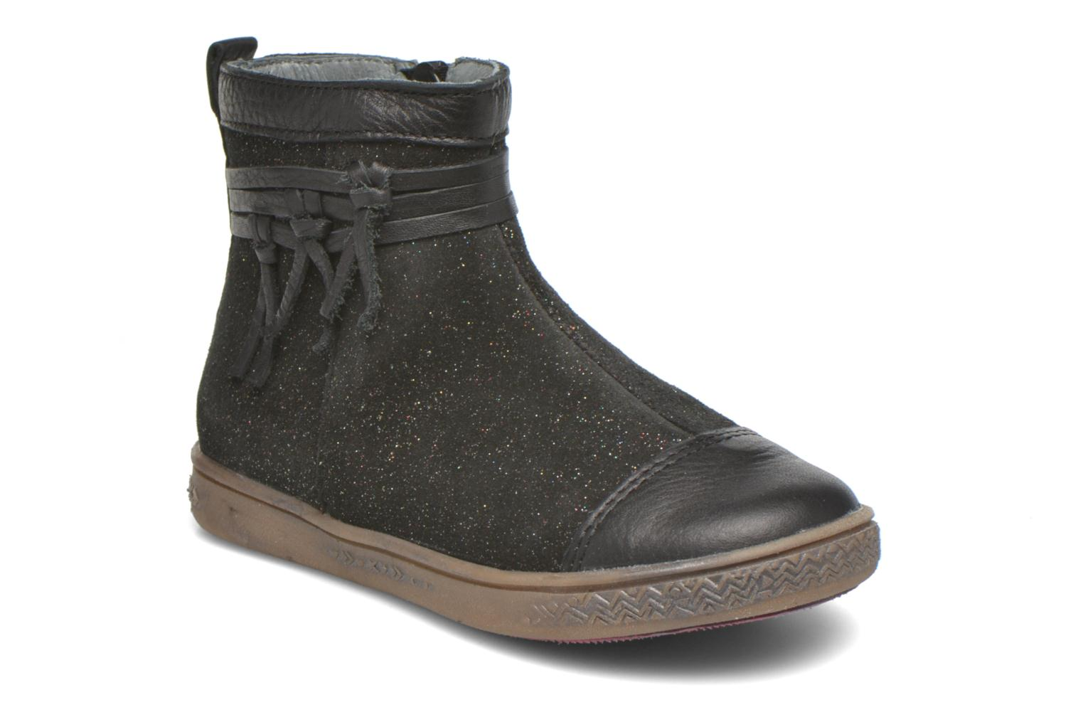 Ankle boots Babybotte Ambalaba Black detailed view/ Pair view