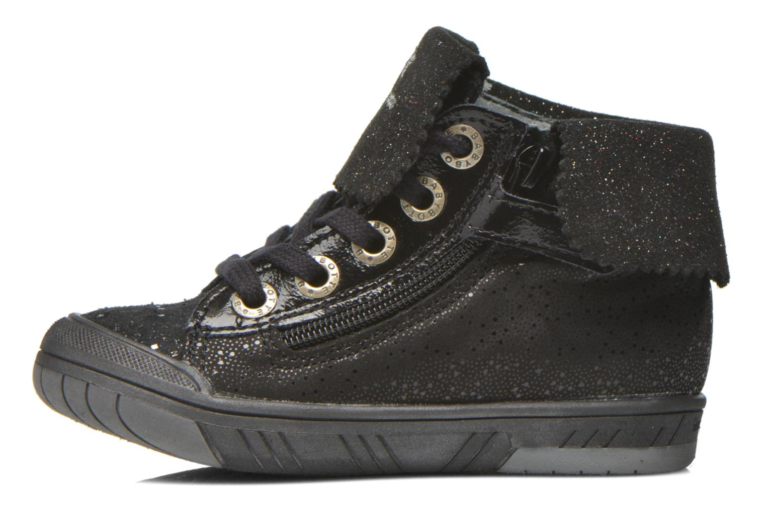 Trainers Babybotte Artistar Black front view