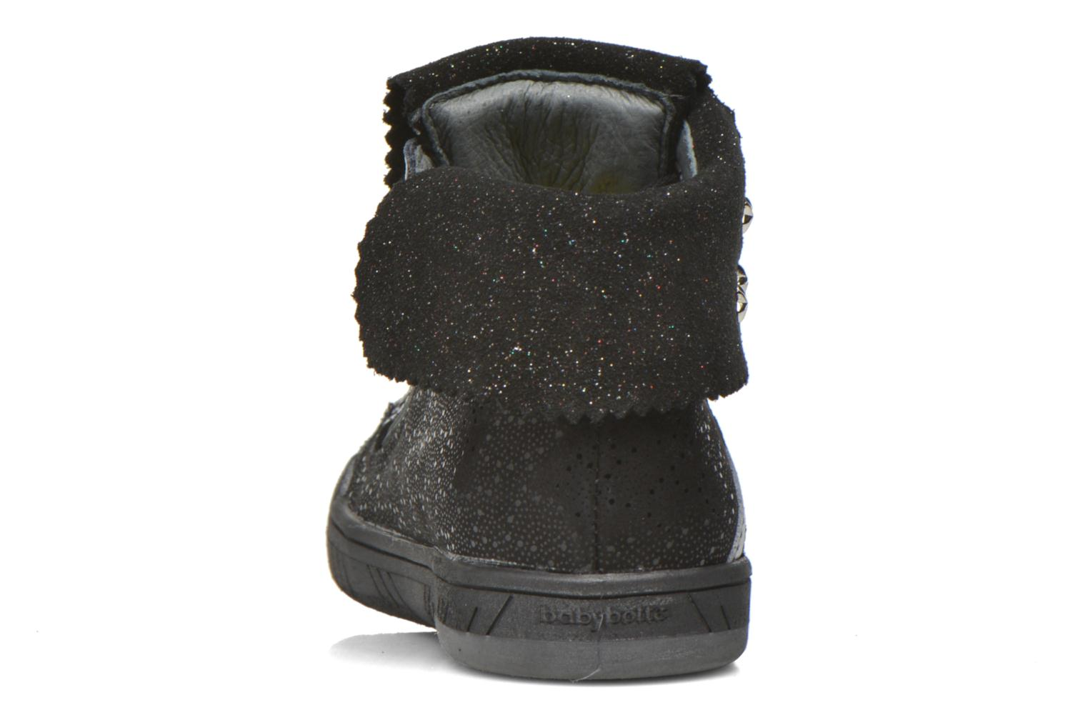 Trainers Babybotte Artistar Black view from the right