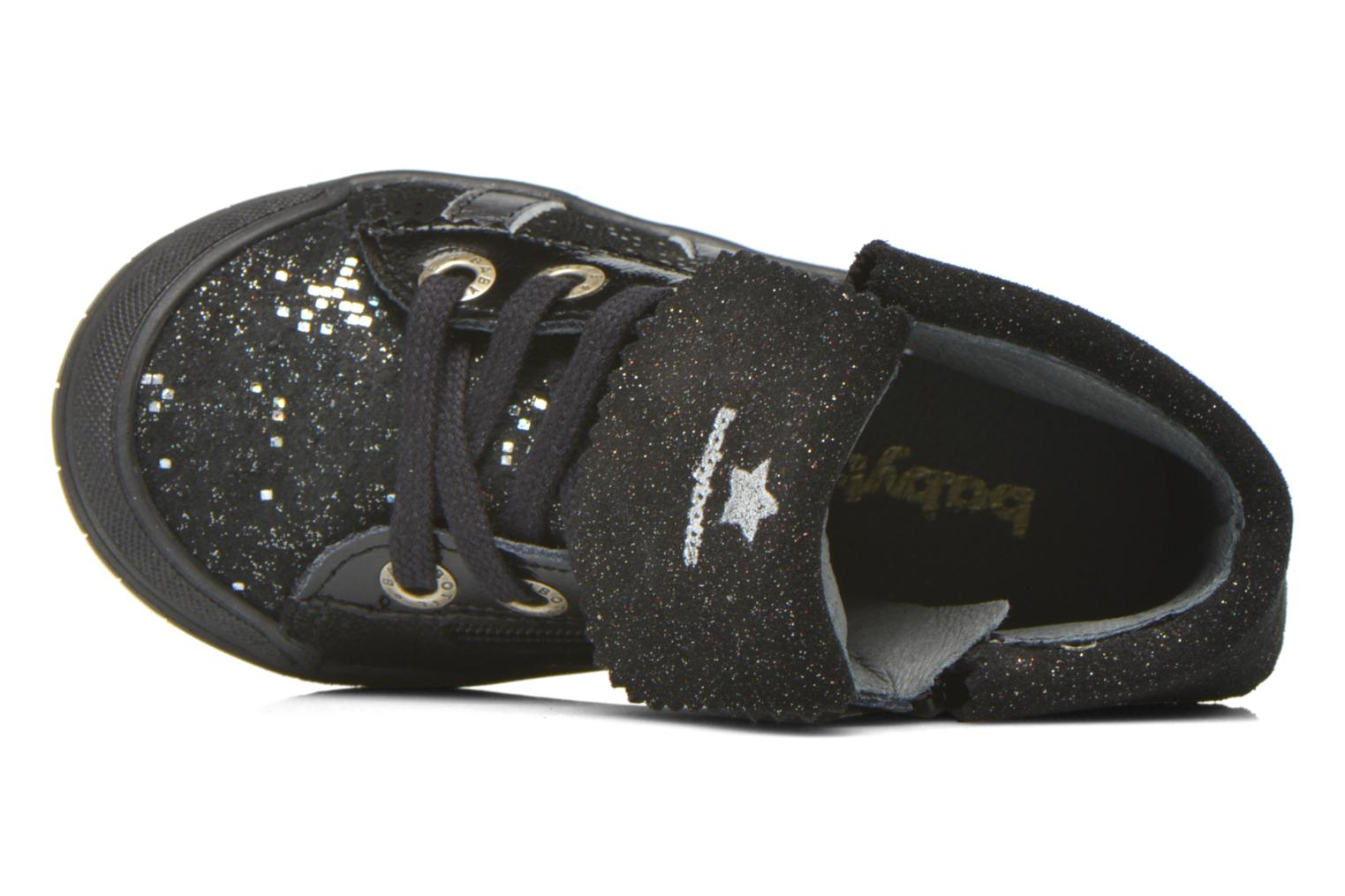 Trainers Babybotte Artistar Black view from the left