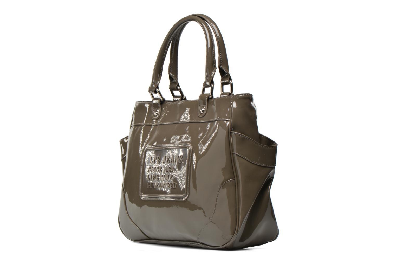 Handbags Les P'tites Bombes Sac Vernis Brown model view
