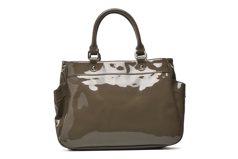 Handbags Les P'tites Bombes Sac Vernis Brown front view